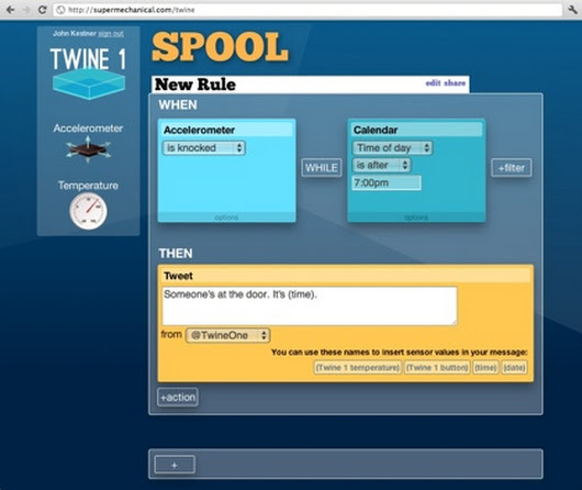 Supermechanical : Twine - Listen to your world, talk to the Internet