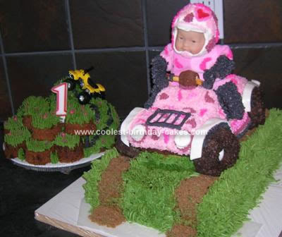 Amazing Birthday Cakes On Pink Camouflage