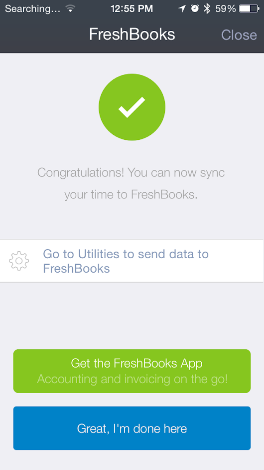 Hours for iPhone announces Freshbooks integration