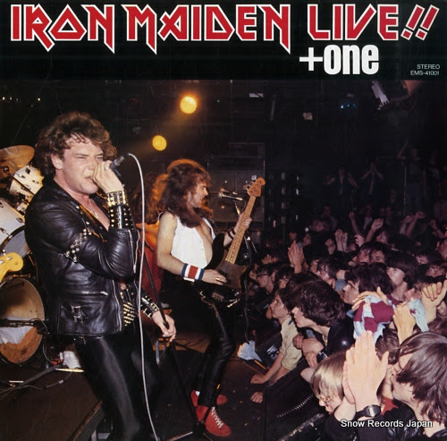 IRON MAIDEN live + one