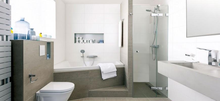 Baños Con Ducha Y Bañera Modernos