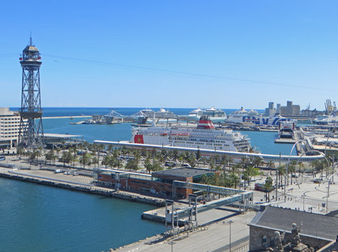 Barcelona Cruise Port and Terminals