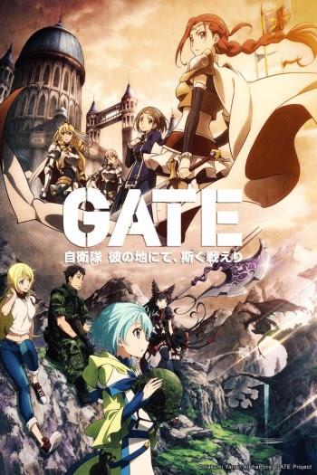 Gate Anime English Dub