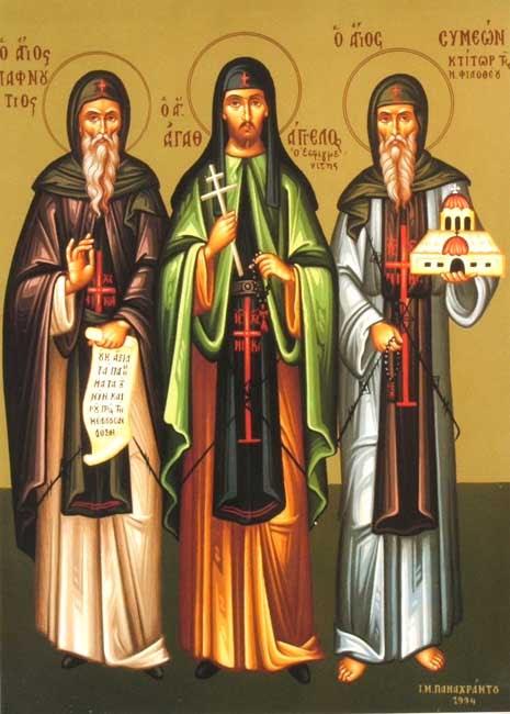 img ST. SYMEON, Simeon, the Barefoot, of Philotheou Monastery, Mount Athos