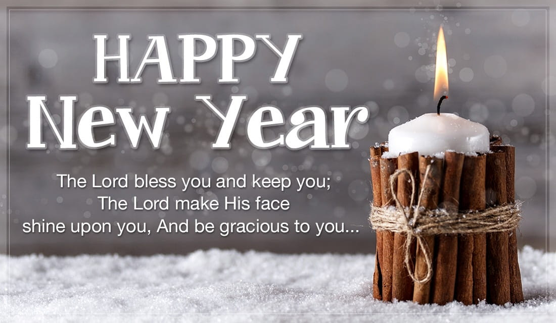 Happy New Year - Candle