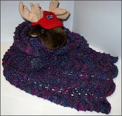 Silk Waves scarf still in progress