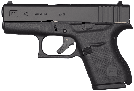 G43 Single Stack 9mm Pistol - Slimline Pistol | GLOCK