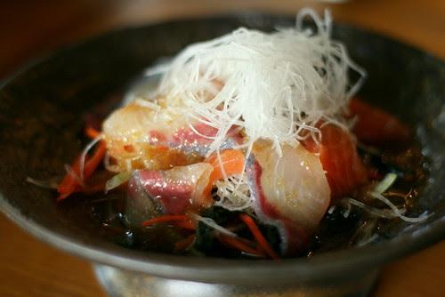 Chiharu Karupacho - Thinly Sliced Raw Fish Salad