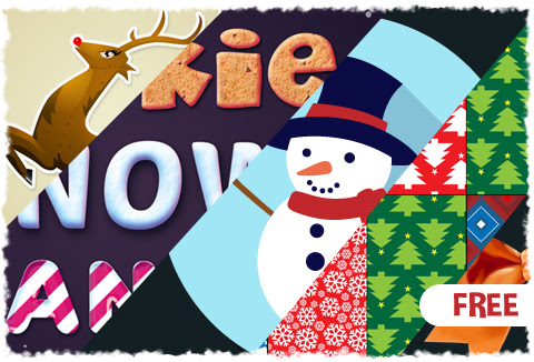 Christmas Vector Graphics Pack for FREE - DealFuel