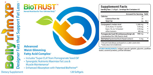 BioTrust BellyTrim XP Review – The CLA Supplement Safe And Effective?