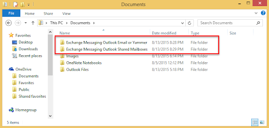 Save Messages and Attachments in a New Folder