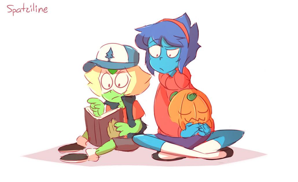 Lapis and Peri Random AU - Gravity Falls