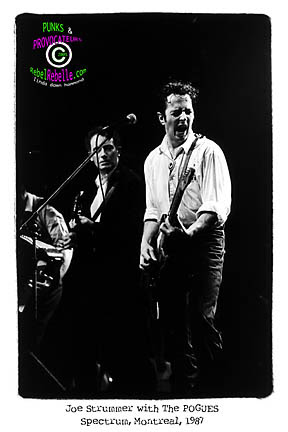 POGUES with STRUMMER