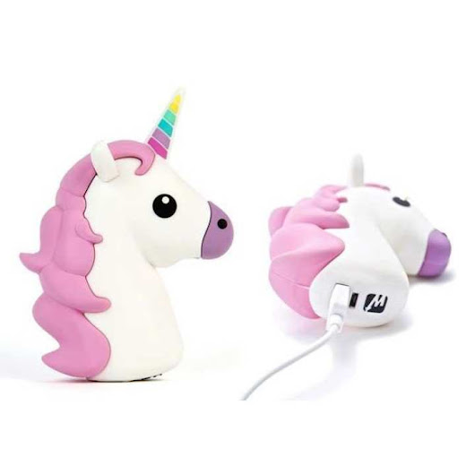 Harga POWER BANK UNICORN WHITE PEGASUS UNIK GIFT 2600 MAH MURAH