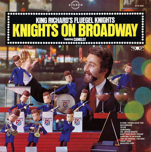 Knights on Broadway Record Album Cover