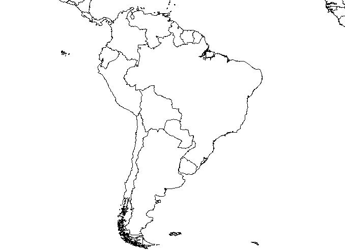 Latin America Map Games | World Map Gray