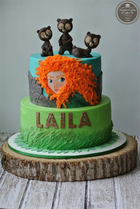 Brave   cake by Magda's cakes   CakesDecor