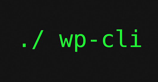WP-CLI – The Command Line Tool For WordPress