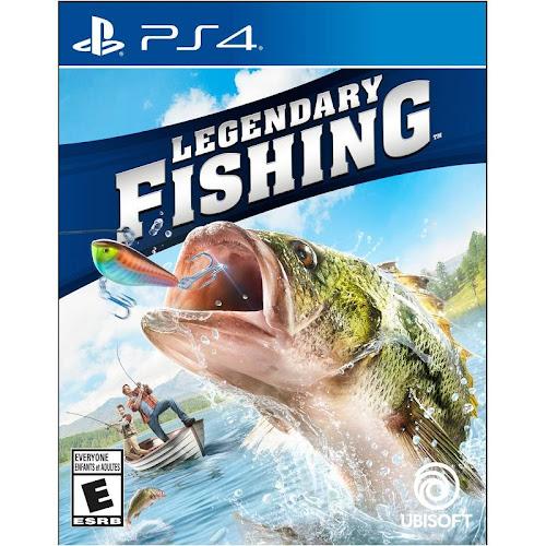 Legendary Fishing [PS4 Game]