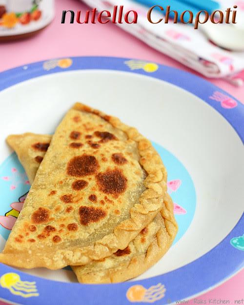 nutella-stuffed-chapati