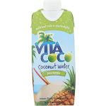Vita Coco Coconut Water, Pure, with Pineapple - 16.9 fl oz
