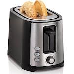 Hamilton Beach 2 Slice Extra-Wide Slot Toaster, Black