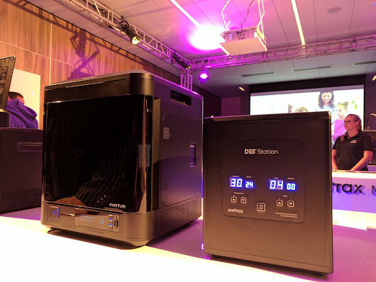 First look at the Inventure 3D printer at the Zortrax Experience event