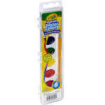 Crayola Washable Watercolors, Assorted - 8 count