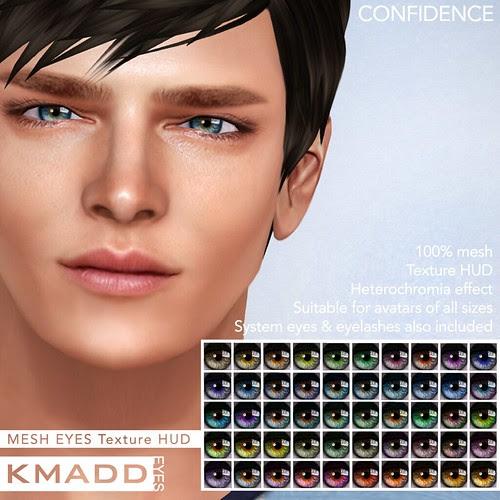 KMADD Mesh Eyes ~ CONFIDENCE