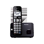 DECT 6.0 1 handset Big buttons Black