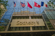 Sotheby's New York offices.