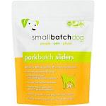 Small Batch Frozen Raw Dog Food 3lb Sliders / Pork