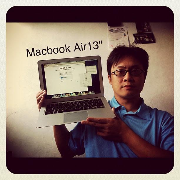 """新玩具MacBook Air 13""""入手"""