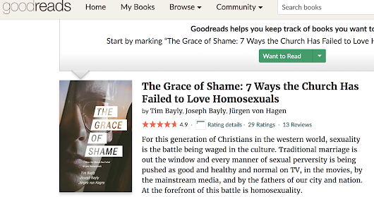 Latest Goodreads review of The Grace of Shame... - Warhorn Media