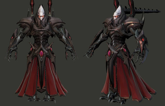 Making of de la Statue d'Alarak par Fantastic'Art - Hobby