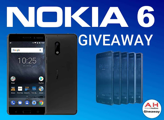 Win A Nokia 6 With AndroidHeadlines – International Giveaway | Androidheadlines.com
