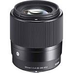 Sigma 30mm f/1.4 DC DN Contemporary Lens for Sony E 302965