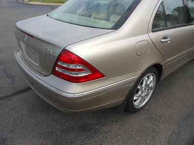 Purchase used 2004 Mercedes C240 4matic All Wheel Drive ...