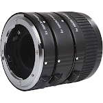 Movo AF Nikon DSLR Macro Extension Tube Set