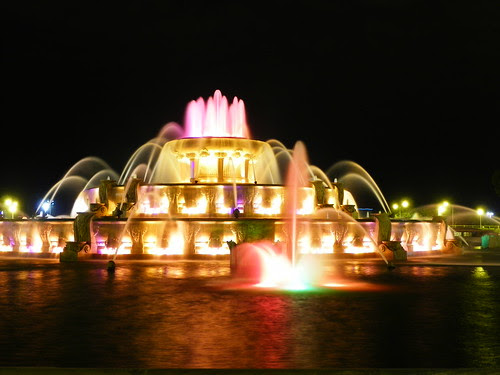 The Buckingham Fountain Chicago