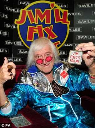 Savile had an estate reported to be worth aroudn £4million when he died in 2001 aged 84 without ever facing prosecution