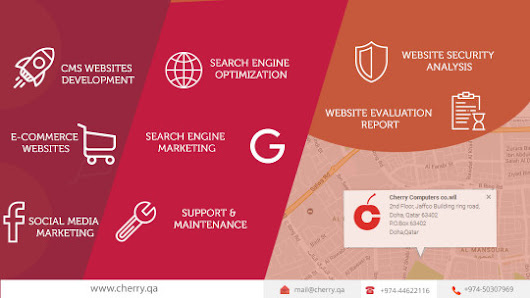 Cherry - Website Designing Company in Doha Qatar