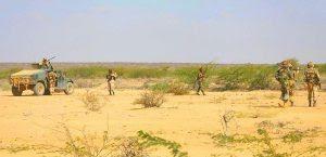 AMISOM troops from Djibouti in Beledweyne, Somalia (Ilyas A. Abukar, Wikipedia)