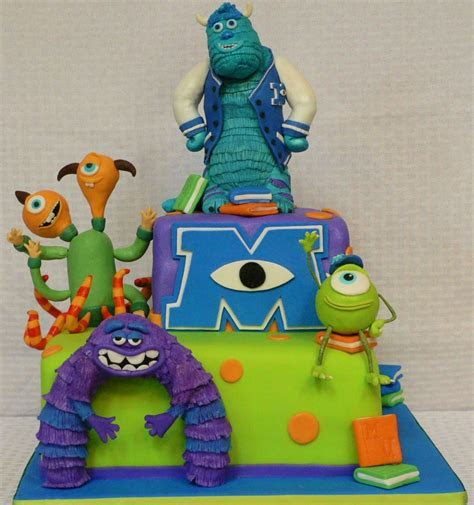Monsters University Baby Shower Cake!   CakeCentral.com