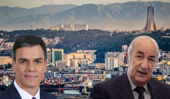 """Pedro Sánchez: """"Argelia es"""" un socio estratégico de suma importancia para España y Europa""""."""
