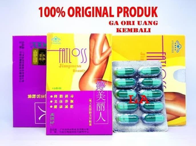 PENAWARAN Top Produk Original Fatloss - Obat Pelangsing Menurunkan Berat Badan