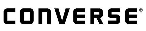 converse black logo