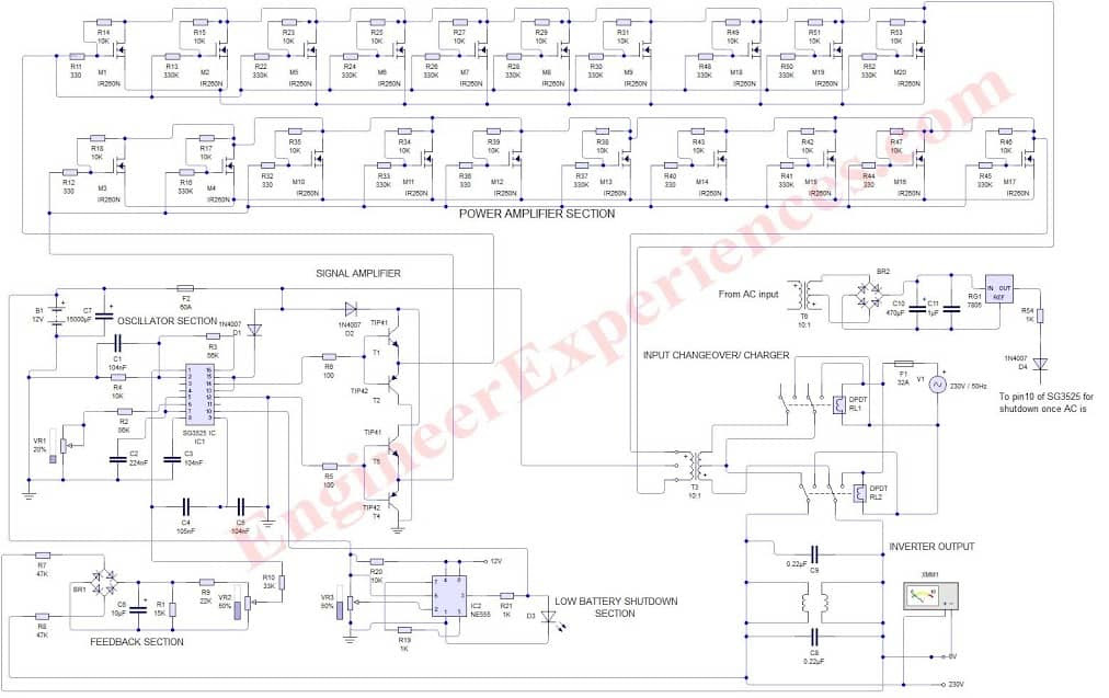 Pcb Layout 5000w Power Amplifier Circuit Diagram