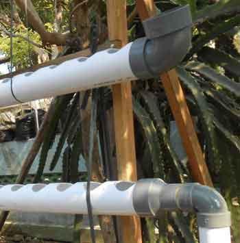 Cara Membuat Rak Hidroponik Pipa Sistem Dft Nft Modifikasi Daun Ijo
