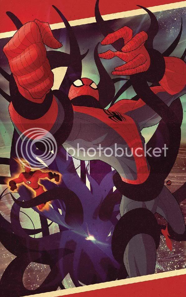 Homem Aranha e Tocha Humana